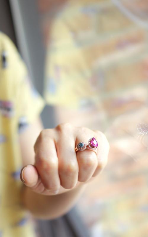1010230 - [나스첸카 NASCHENKA] 루벨라이트 _ 14K 다이아몬드 루벨라이트