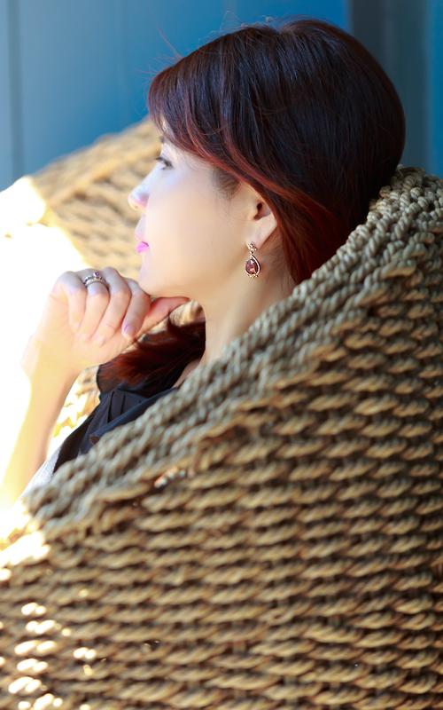 1016139 - [나스첸카 NASCHENKA] 나스 소더비 컬렉션 _ 14K 토르마린 귀걸이 다이아몬드 귀걸이 루벨라이트 귀걸이