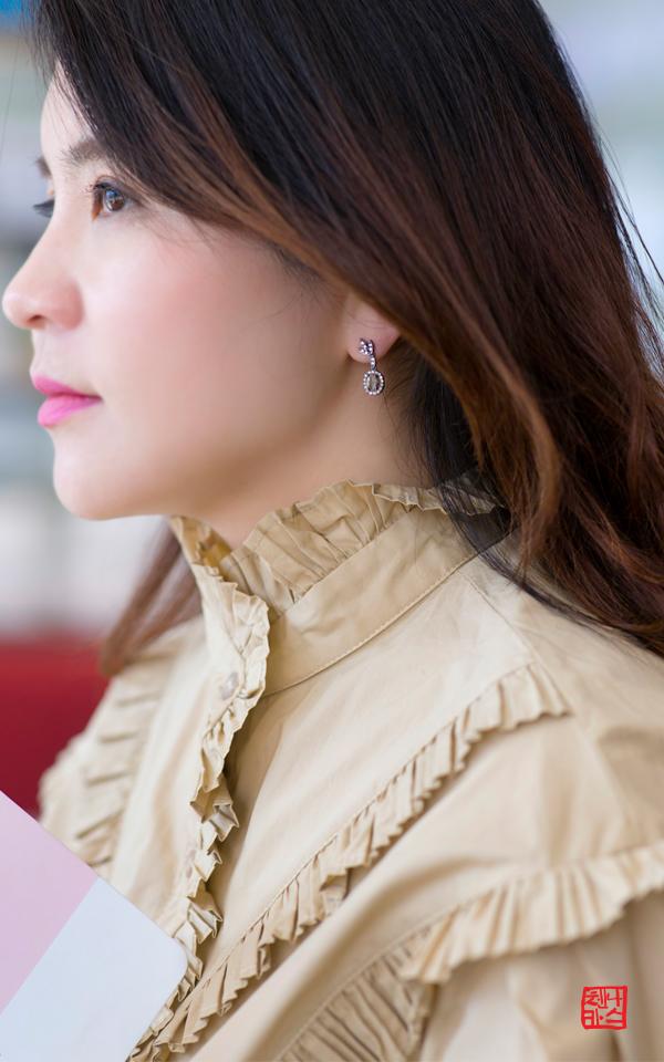 1408106 - [나스첸카 NASCHENKA] 네가 나 좋아하는거 알아 _  14K 러프 다이아몬드 귀걸이