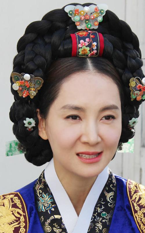 7396 - [나스첸카 NASCHENKA] 왕가의 전통혼례, 조선 최고의 여인만을 위한 대수머리 나비형 _ 선봉잠 _ 한복 머리장식 _ 결혼준비 _ 신랑어머니한복