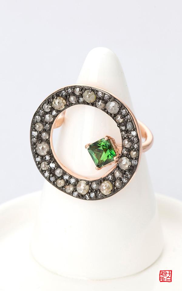 1421932 - [나스첸카 NASCHENKA] 꿈꾸는 섬 _14K 다이아몬드 반지