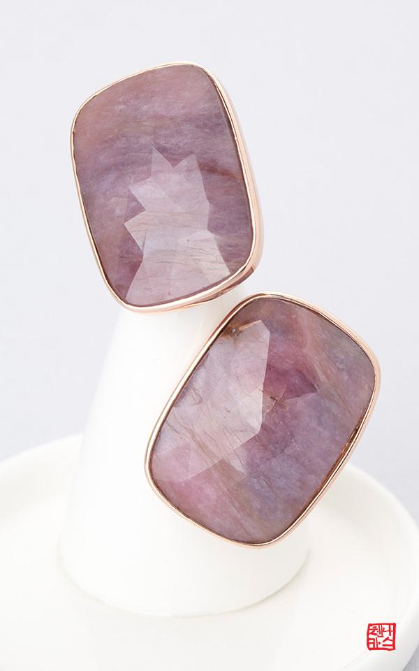 1427594 - [나스첸카 NASCHENKA] 천연만이 주는 보란듯한 여유 8 _ 14K 사파이어 귀걸이