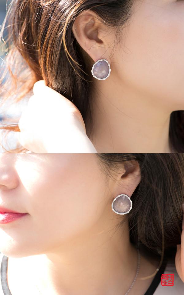 1405447 - [나스첸카 NASCHENKA] 눈과 마음을 묶어줄 사파이어 12 _ 사파이어 귀걸이