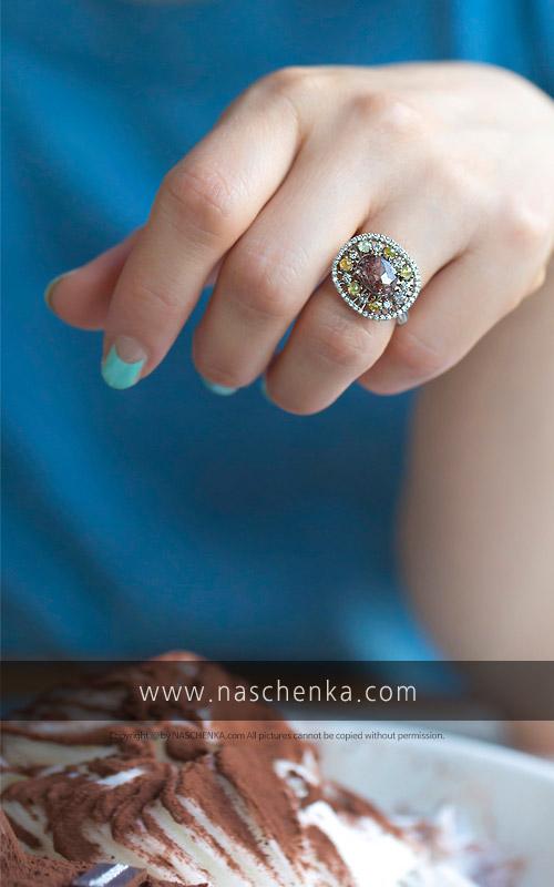 1128221 - [나스첸카 NASCHENKA] 이런 유혹 처음이야 _  rough diamond 18K 러프 다이아몬드 반지