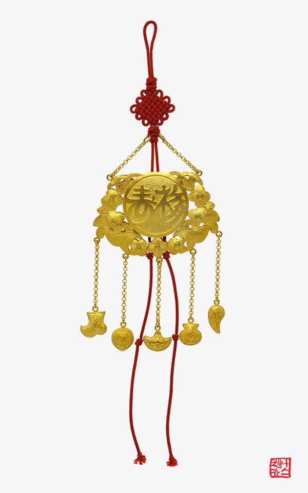 1476114 - [나스첸카 NASCHENKA] 나스의 행복 전통 장신구 [실버 수공예 은제 노리개]