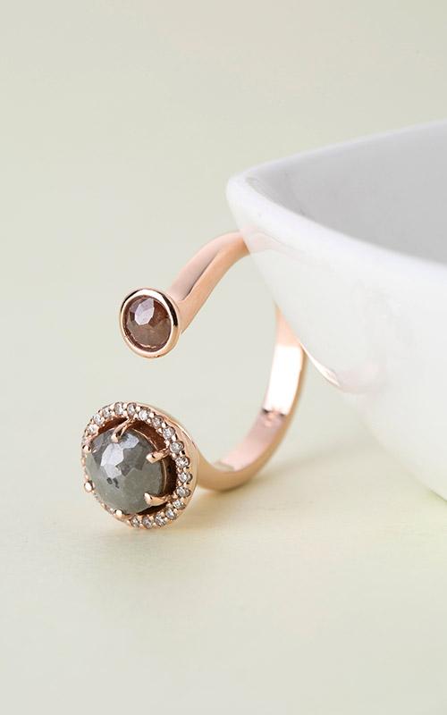 1128222 - [나스첸카 NASCHENKA] 설레이는 감성을 드립니다 _ 14K러프 다이아몬드 반지